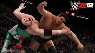 WWE 2K19 三沢光晴 vs 小橋建太 Mitsuharu Misawa vs Kenta Kobashi