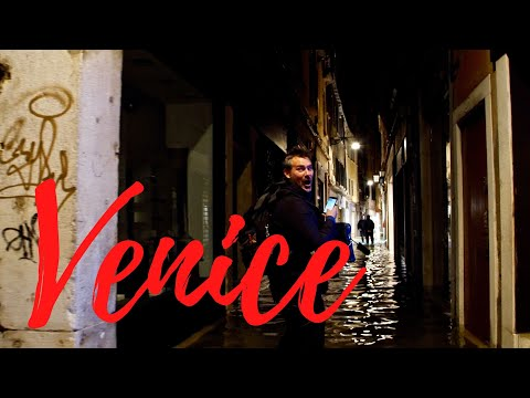 24 Hours In Venice Italy (During The ACQUA ALTA Venice Flood 2019)