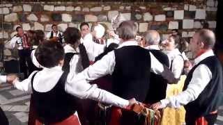 """Castelmola (Me) - Il gruppo folk """"I Molesi"""" balla la  controdanza siciliana"""