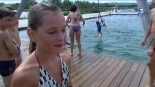 Côte-d'Or : baignade naturelle à Beaune côté plage