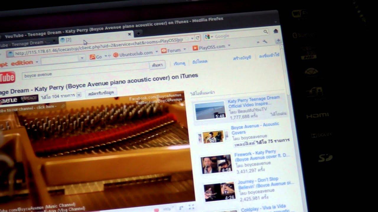 Ubuntu 11.04 Live CD on Acer Iconia W500 - YouTube