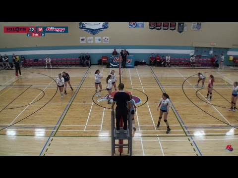 Volleyball féminin contre PUC Pilots