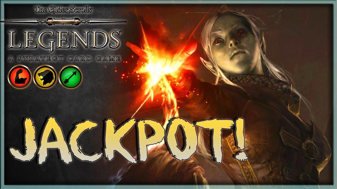 [TES LEGENDS] JACKPOT - Slay Rage House Hlaalu Deck Guide & Gameplay 🗡️  Houses of Morrowind