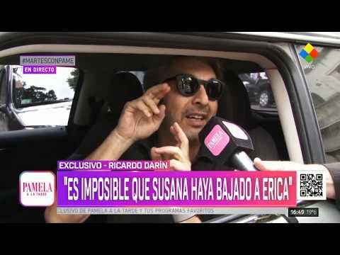 Qué dijo Darín sobre la ausencia de Erica Rivas al living de Susana