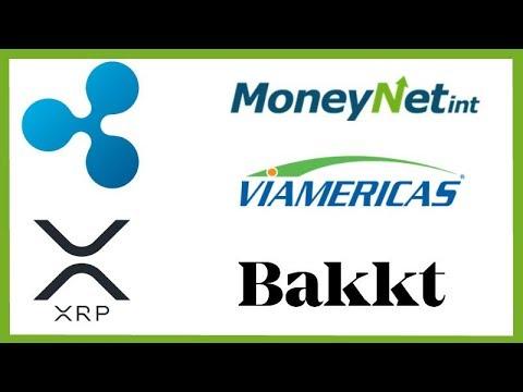 MoneyNetInt Partners with Ripple – Viamericas xRapid – Bakkt CEO Crypto Revolution