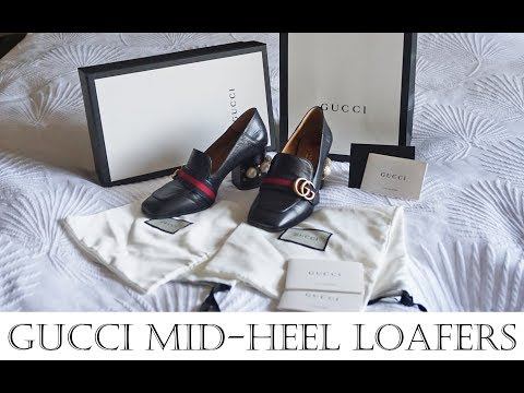 Gucci leather mid