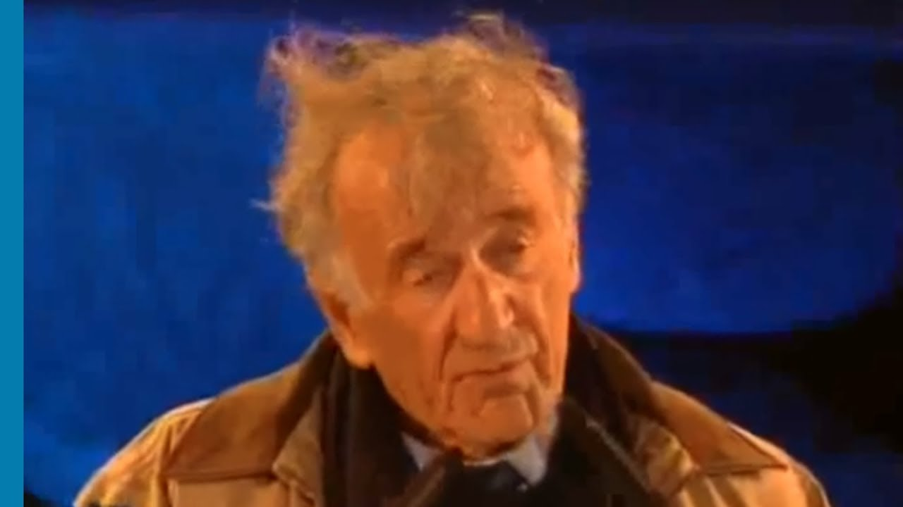 Elie Wiesel: Universal Lessons of the Holocaust - YouTube