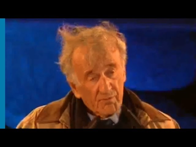 Elie Wiesel: Universal Lessons of the Holocaust