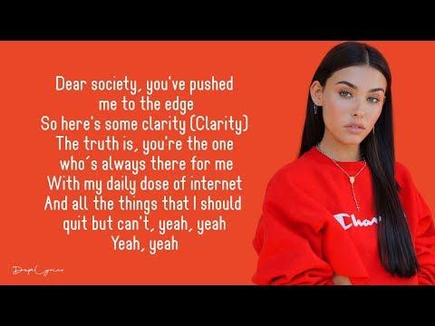 Madison Beer - Dear Society (Lyrics) 🎵