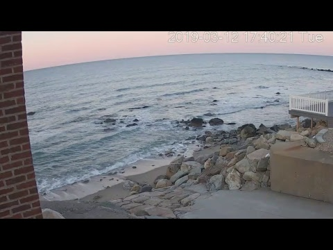Ocean Bluff Marshfield, MA Live Stream