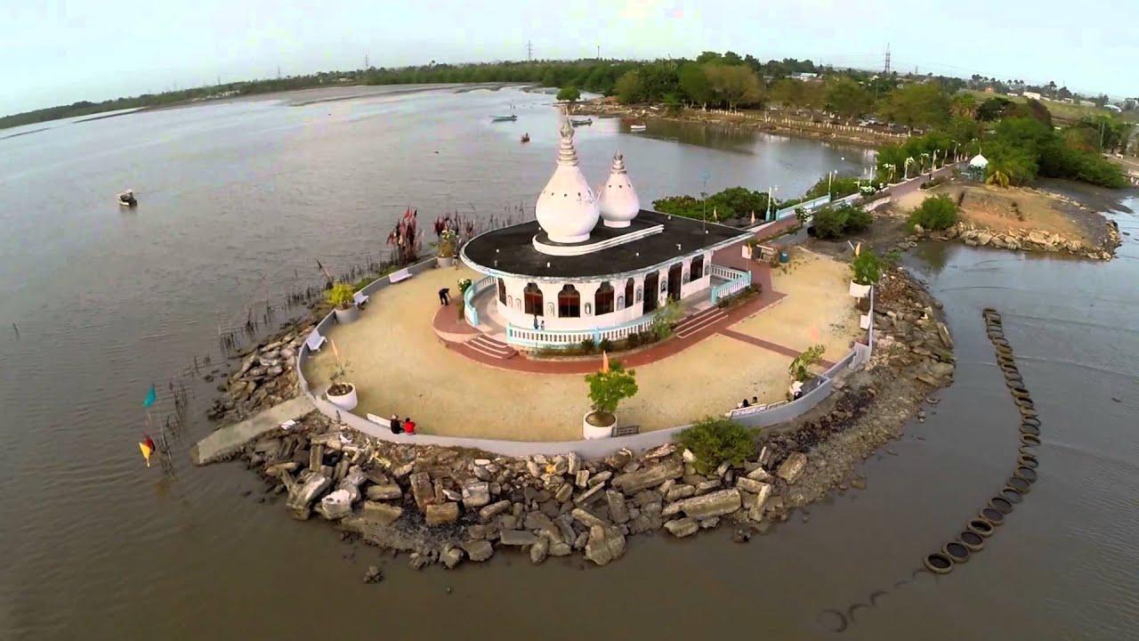 Temple In The Sea, Waterloo, Trinidad - YouTube