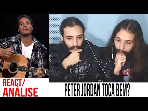 [REACT/ANÁLISE] PETER JORDAN TOCANDO TAKE ON ME!!! thumbnail