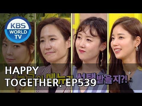 Happy Together I 해피투게더 - So Yujin, Kang June, Byul, Ki Eunse [ENG/2018.05.24]