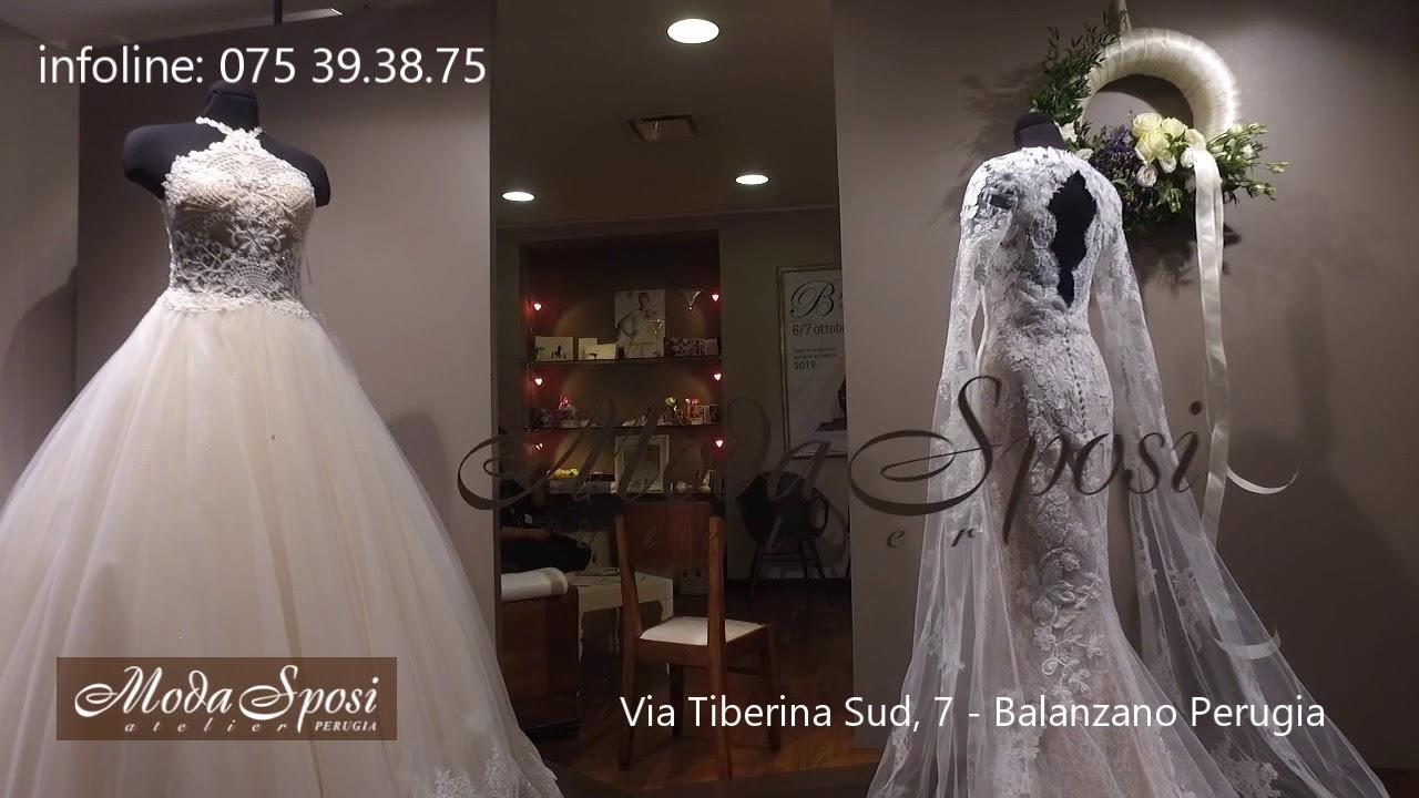 19437531991e Moda Sposi Perugia Collezione 2019 - YouTube