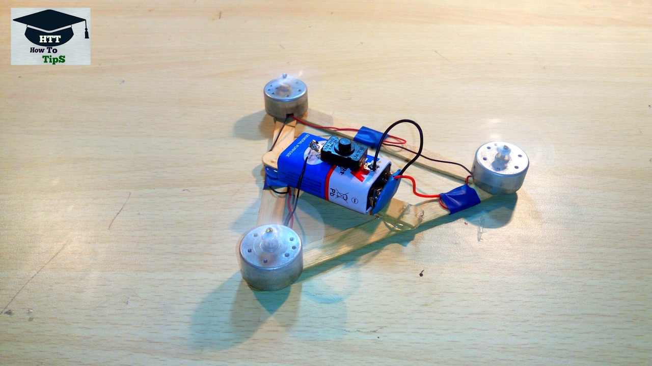 How To Make A Quadcopter At Home
