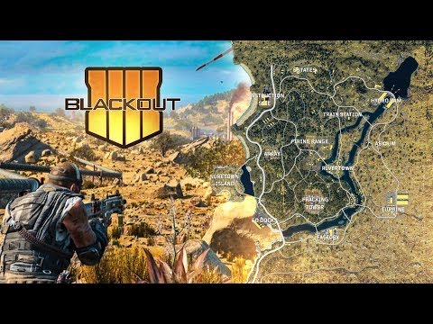 The COMPLETE Call of Duty Blackout Map..
