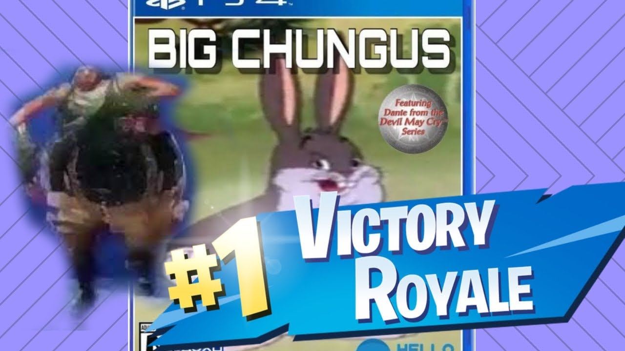 I Found Big Chungus In Fortnite Battle Royale But He Was A Trap