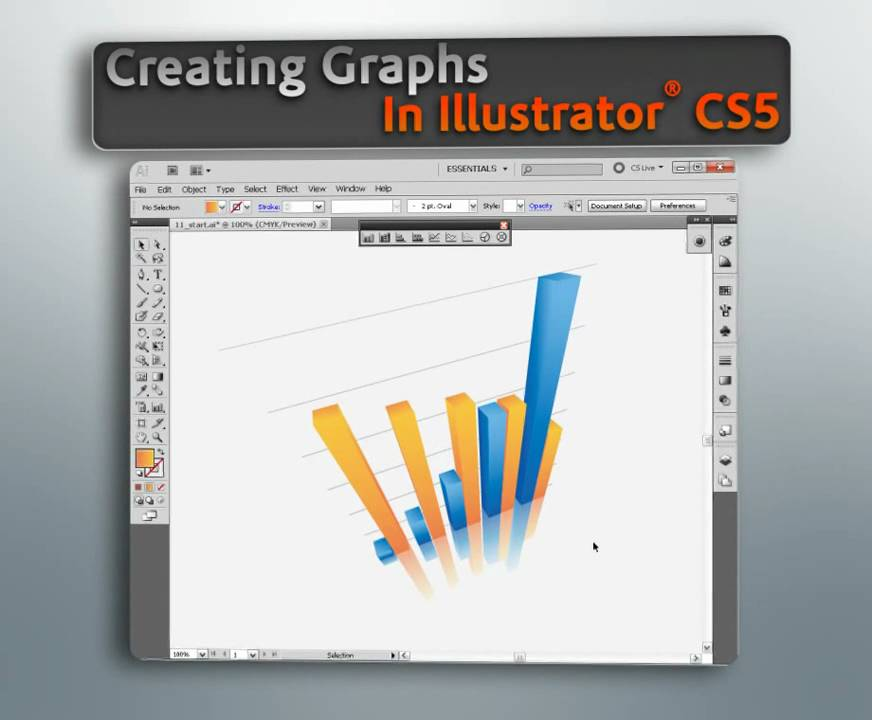 how to make a graph on illustrator