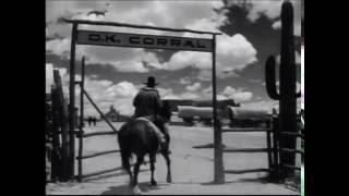 アリゾナ州ツームストン OK牧場で1881年に実際に起こった事件。ワイアッ...