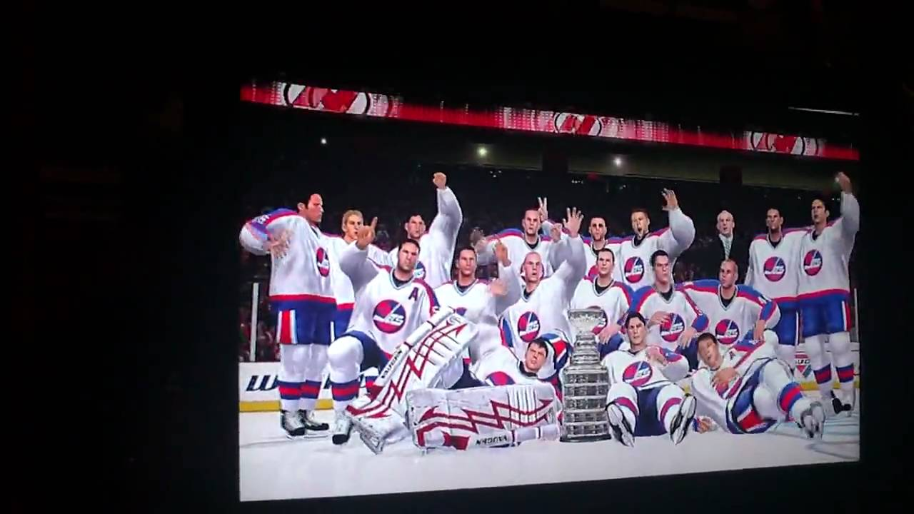 Winnipeg Jets win the Stanley Cup in NHL 10 - reSports for KidSport