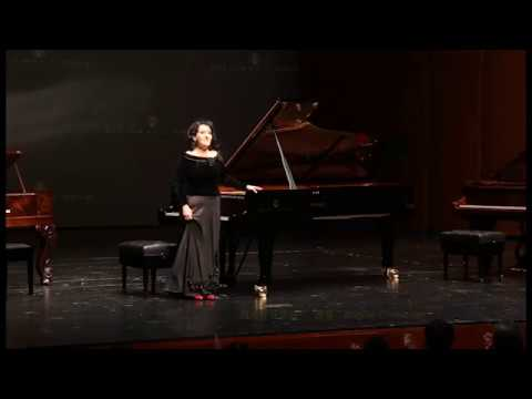 Lizt - Spanish Rhapsody, Angela Cholakian at Arts and Culture Center Grand Theater in Suzhou, China