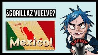 ¿Gorillaz vuelve a México? (Carta de Russel)