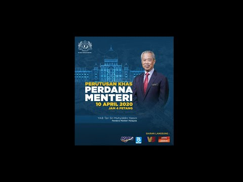 Perutusan Khas Perdana Menteri (10 April 2020)