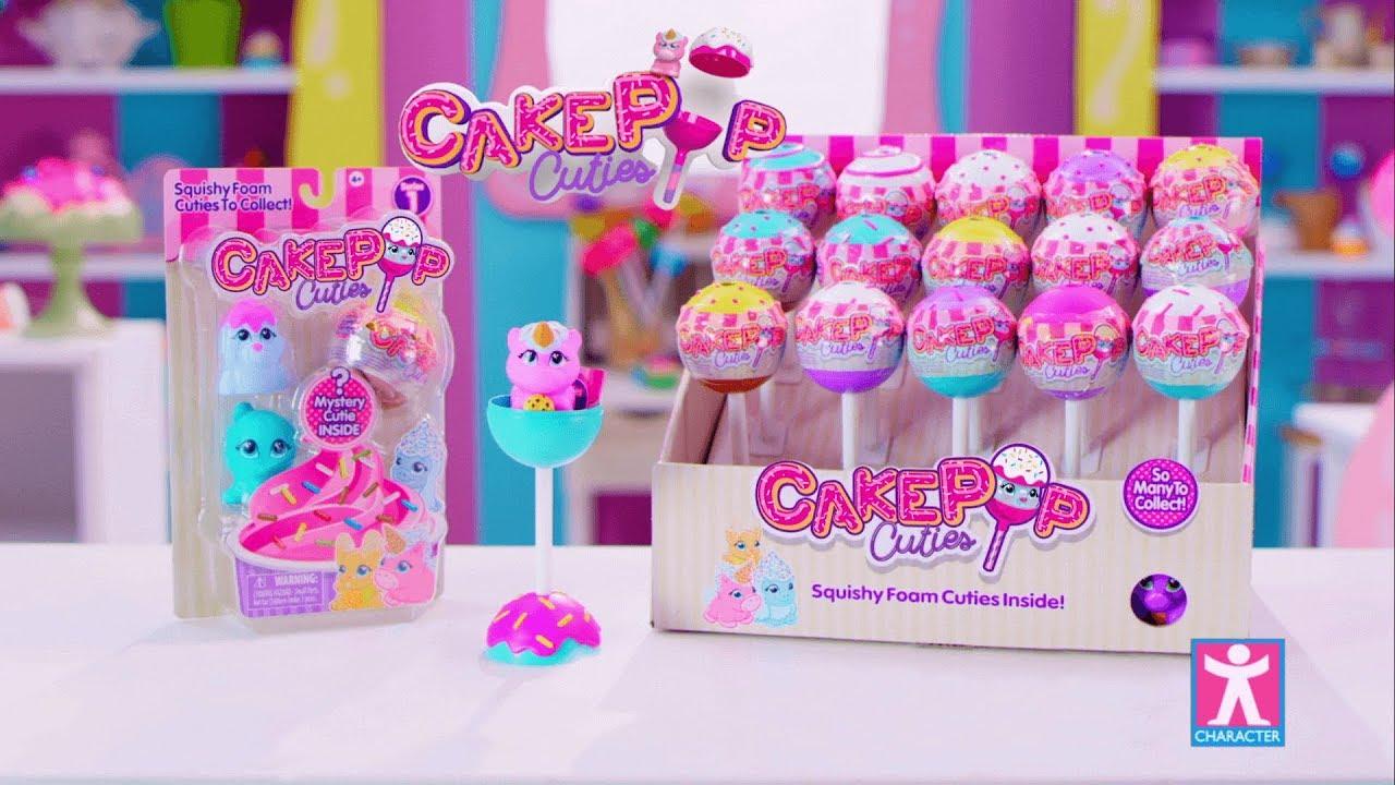 Squishy Cake Pop : Cake Pop Cuties - YouTube