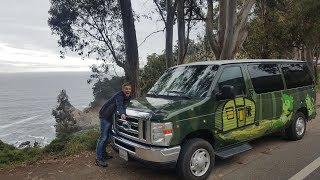 Escape Campervan Maverick Review - California - Big Sur - LA - San Diego - Las Vegas - Yosemite