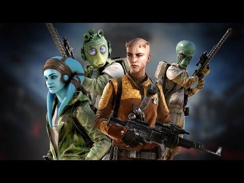 Star Wars Battlefront: Rodian, Zabrak, Duros, and Twi'lek Gameplay