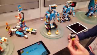 LEGO Boost (17101) robotics live demo at New York Toy Fair 2017