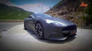 【loop picks】香港試車 貴氣優雅 Aston Martin Vanquish Test Drive