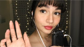 ASMR Tingly Tascam Mouth Sounds (Breathy, Tktk, Tapping, Hand Movements)