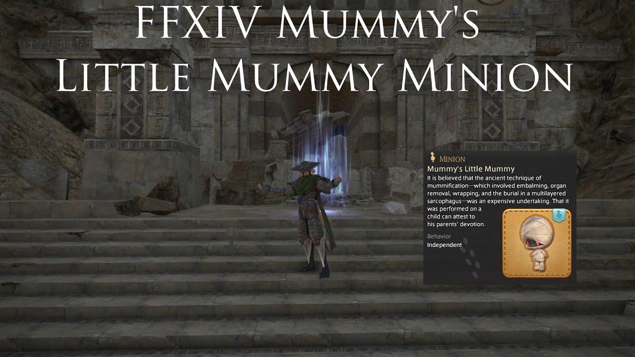 FFXIV Mummy's Little Mummy Minion