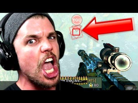 SkyRRoZ VS HACKER !! (MW3 - 1vs1 Sniper)