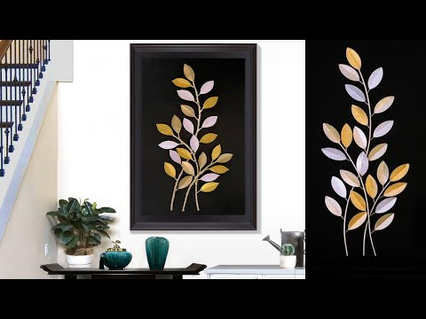 easy-paper-craft-||-paper-wall-hanging-making-at-home-||-decorative-for-home-decor