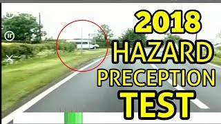 HAZARD PRECEPTION TEST 2018 |  THEORY TEST 2018