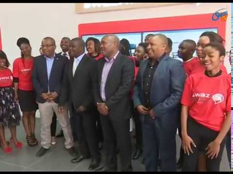 The official opening of the new Swazi Mobile Experience Centre in Mbabane.