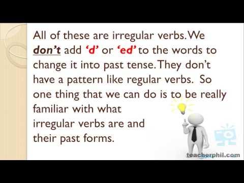 Regular vs. Irregular Verbs