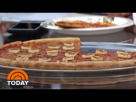 Banana On Pizza?! TODAY Anchors Try Sweden's Unusual Combo |