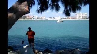 № 698 США Флорида Чудесный Пляж Sand Key Park, Florida