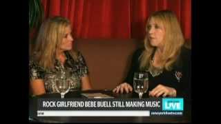 bebe buell on nbc s new york live tv show