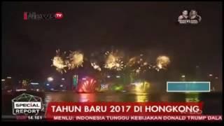Kemeriahan Pesta Kembang Api Jelang Tahun Baru 2017 Di Hongkong Dan Taiwan