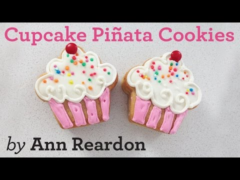 CUPCAKE PIÑATA COOKIES How To Cook That By Ann Reardon And Breville