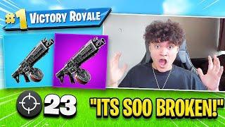 The *NEW* Shotgun in Fortnite is BROKEN (Best Shotgun!?)