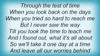16918 Patti Austin - Through The Test Of Time Lyrics