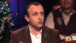 Ondrej Kandráč- Rusínsky rap (Neskoro večer - Talkshow Petra Marcina)