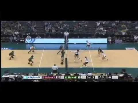 Rainbow Wahine Volleyball 2014 - #17 Hawaii Vs #25 Arizona St