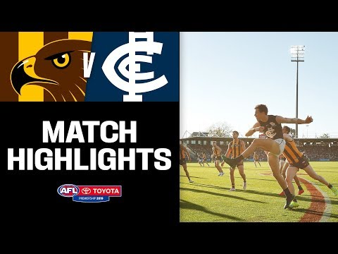 Incredible comeback in Tassie | Hawthorn v Carlton Highlights | Round 6, 2019 | AFL