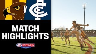 Hawthorn V Carlton Highlights | Round 6, 2019 | Afl